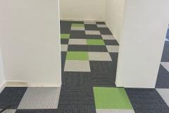 Pánská šatna - podlaha