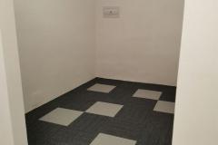 Dámská šatna - podlaha