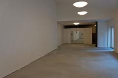 Podlaha už se blíží k dokončení